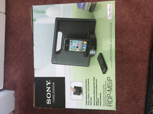 Portable Sony iPhone & iPod Audio Music docking System