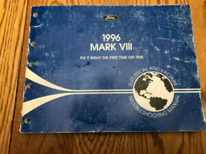 Lincoln Mark VIII Service Manual