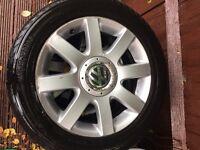 Volkswagen Golf mk5 alloys 16 inch 5x112