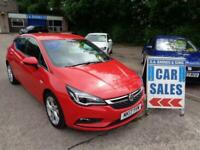 2017 Vauxhall Astra 1.6 CDTi BlueInjection SRi (s/s) 5dr