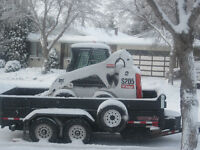 "JR""S bobcat service snow removal"