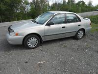 1999 Toyota Corolla Berline