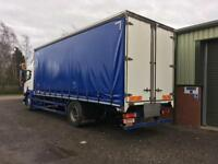 24 Foot Curtainside Lorry Body / Removed from a Scania.