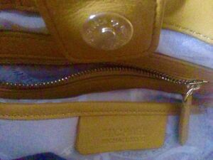 Authentic Michael Kors Mustard Leather shoulder bag Strathcona County Edmonton Area image 7