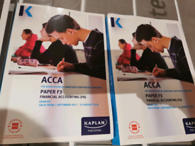 Acca Paper F3 Financial Accounting valid till August 2018