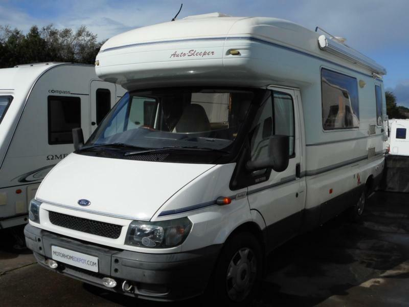 Auto Sleeper Amethyst 5 Berth Sought After Motorhome. 4 Travelling Seat Belts