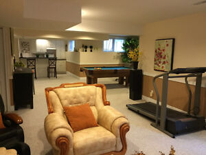 specious one bedroom in walk-out basement for rent Kitchener / Waterloo Kitchener Area image 2