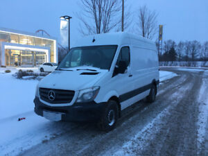 2015 Mercedes Sprinter,Low Kms, 144WB,  High Roof, Certified!!!