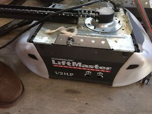 Used Liftmaster garage opener