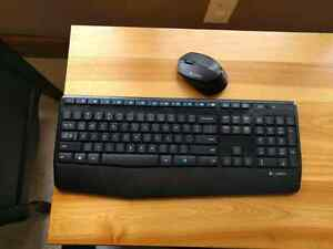 Mk345 wireless mouse and keyboard
