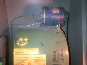 Blower Fan Assembly and 1/4 HP motor all in one package $50