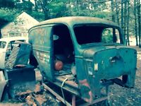 1940 Chevy panel project