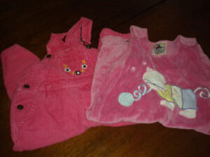 Lot of Girl's size 24 month/ 2 year old clothes.