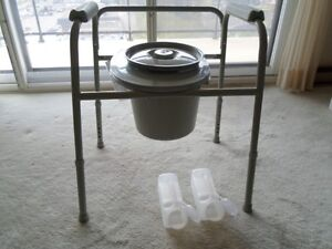 Commode chair and urinals
