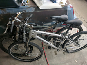 Bikes for sale  OBO