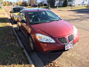 2008 Pontiac G6 Sedan - Less than 100Km