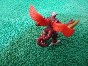 Digimon Burninggreymon official Bandai mini figure Kingston Kingston Area image 5