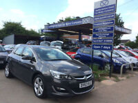 "2013 63 Vauxhall Astra 1.6i VVT 16v SRi 5 Door in Grey 70,000 miles, 17"" alloys."