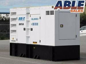 Diesel Generator 80 kVA 415V MINE SPEC - BRAND NEW - WARRANTY Coolaroo Hume Area Preview