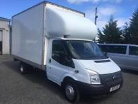 Ford Transit lotion box van lwb 125 bhp 2013 13 Reg