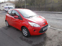 FORD KA 1.2 EDGE HATCHBACK 18,000 MILES FSH ONLY £30 A YEAR RFL 2014-64