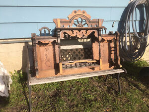 Antique Top to a Hutch
