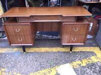 Retro G Plan Tola Writing Desk/ Dressing Table