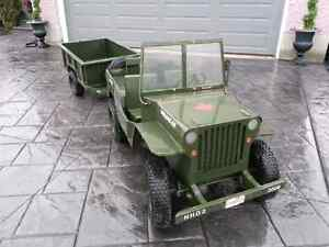 Willys Jeep Custom Scale