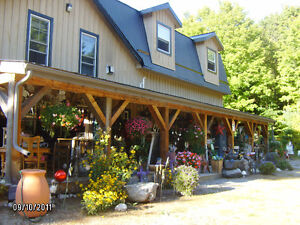Commercial/Industrial Building & Residence on 5.8 acres Muskoka