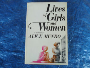 ALICE MUNRO 1ST EDITION 'LIVES OF GIRLS AND WOMEN' W/DUST JACKET