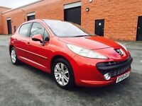 JANUARY 2009 PEUGEOT 207 SE PREMIUM 1.6 HDI ONE OWNER SERVICE HISTORY ONLY £30 A YEAR ROAD TAX