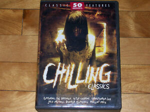 30¢ MOVIES!!! 50 CHILLING CLASSICS - 12 DVD HORROR COLLECTION