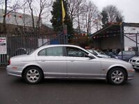 Jaguar S-Type 2.5 V6 SE 4dr LOVELY EXAMPLE EXTREMELY LOW MILLIAGE (silver) 2002