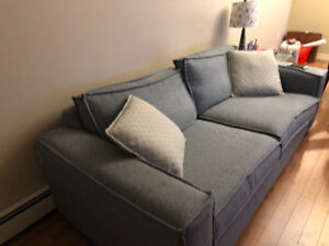 cozy  couch for sale. Must go !