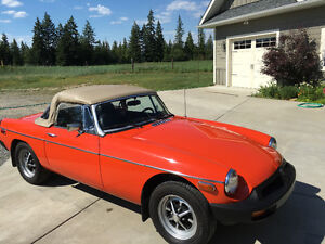 Beautiful 1978 MGB Roadster
