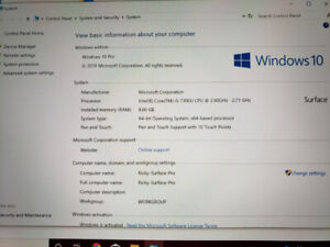 Surface Pro 4 Looking for Selling for $600