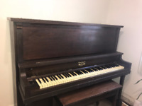 Free Upright Piano for Donation