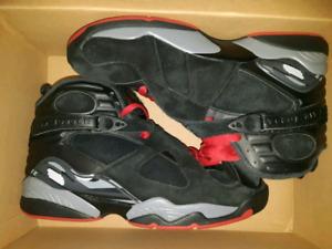 """Deadstock Nike Air Jordan 8 """"bred"""""""