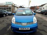 2008 Nissan Note 1.6 Tekna Automatic 5-Door From £3,195 + Retail Package Hatchba