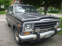 1986 Grand Wagoneer *PRICE REDUCED*
