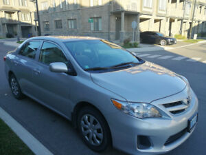 CERTIFIED 2013 Toyota Corolla, one owner, female driven