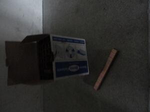 Like new box of A-11/10 staple pins stapler gun refill London Ontario image 4