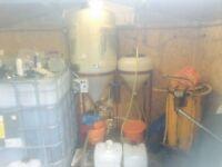 Bio diesel / oil processor & accessories