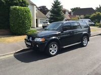 Mitsubishi shogun sport 3.0 elegance v6 5 door auto 175 BHP AIR-CON+LEATHER+DVD PLAYER pioneer