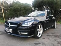 2012 62 MERCEDES-BENZ SLK 2.1 SLK250 CDI BLUEEFFICIENCY AMG SPORT 2D AUTO 204 BH