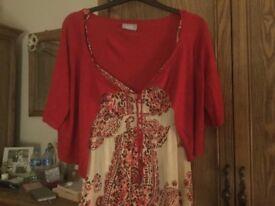 MAXi DRESSES 2 plus 2 cardis and 2 shawl/ scarf £20 the lot.....