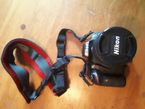 Nikon D3200 camera and lenses for sale