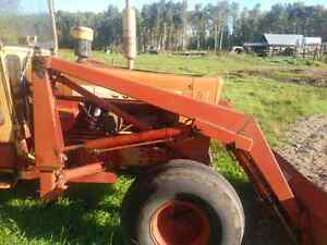 Cancade loader and Volvo 800 tractor parts for sale