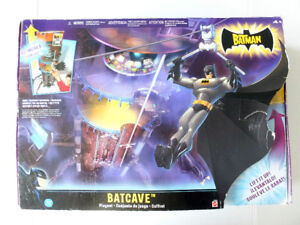 """The Batman"" animated series Batcave playset"