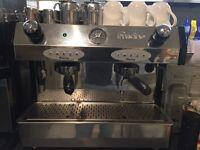 FRACINO Coffee machine and grinder